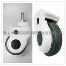 供应正品3寸静音螺纹万向轮医用推车医疗仪器脚轮转椅滚轮滑轮器械轮批发