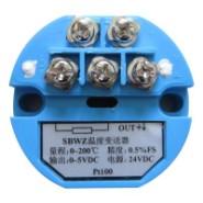 SBWZ温度变送器模块 热电阻图片