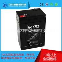 供应6V4.5AH铅酸蓄电池/安防6V蓄电瓶