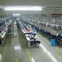 广州白云区制衣厂流水线图片