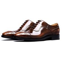 供应HIHFOREVER固特异商务休闲皮鞋