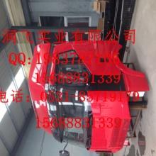 供应用于原厂装车配件的一汽解放J6红色高顶驾驶室生产厂批发