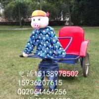 供应用于儿童娱乐的大型机器人拉黄包车