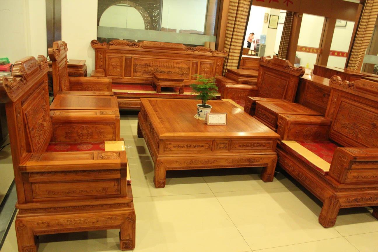 东阳红木家具 兰亭序沙发价格