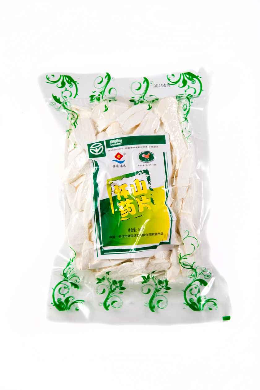 供应用于保健食材的健国怀药500g无硫怀山药片