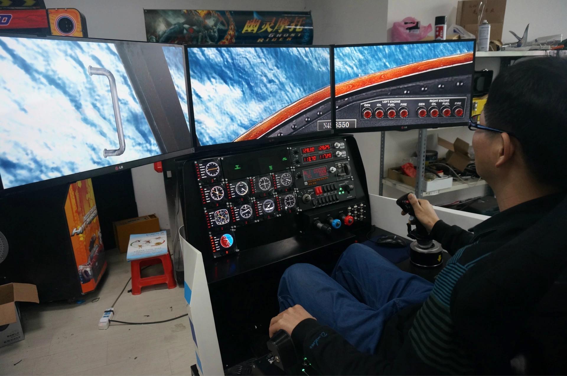 全动感专业飞行飞机驾驶模拟器批发