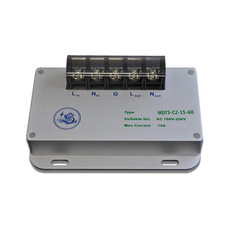 道仪电涌防雷保护器电源稳定浪涌保护器MDT5-C2-15-60电源保护器