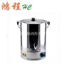 供应不锈钢单层/双层电热开水桶/发热管/加热盘/防干烧/双层保温加热桶