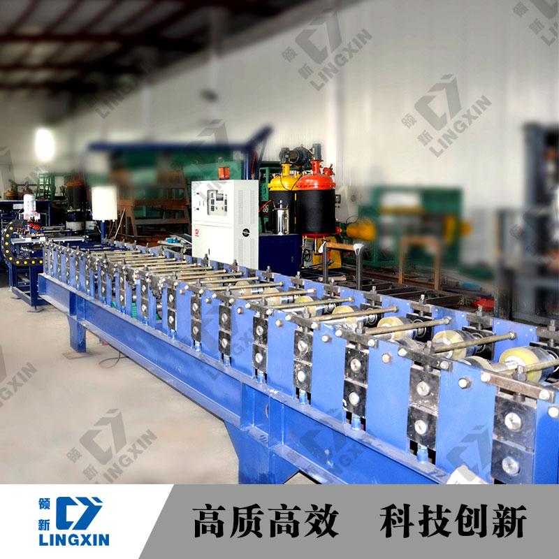 聚氨酯复合板生产线图片/聚氨酯复合板生产线样板图 (3)