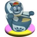 供应儿童游乐设备-灰太狼转椅
