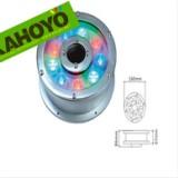 供应LED大功率全彩环形喷泉灯,全彩中孔灯,水下灯具