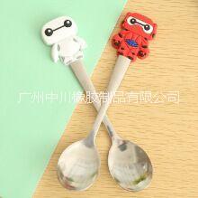 供应硅胶手柄勺子 可食用硅胶材质