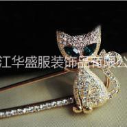 专业生产胸针,领针,服装饰品厂家图片