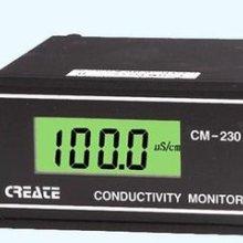 供应电导仪器原电导率仪CM230(新款CCT-3320V)液晶显示含探头在线电导仪表批发
