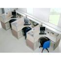 供应工作位屏风,杭州专业屏风隔断定做,办公室简约屏风