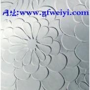 波浪板_浮雕花叶图片