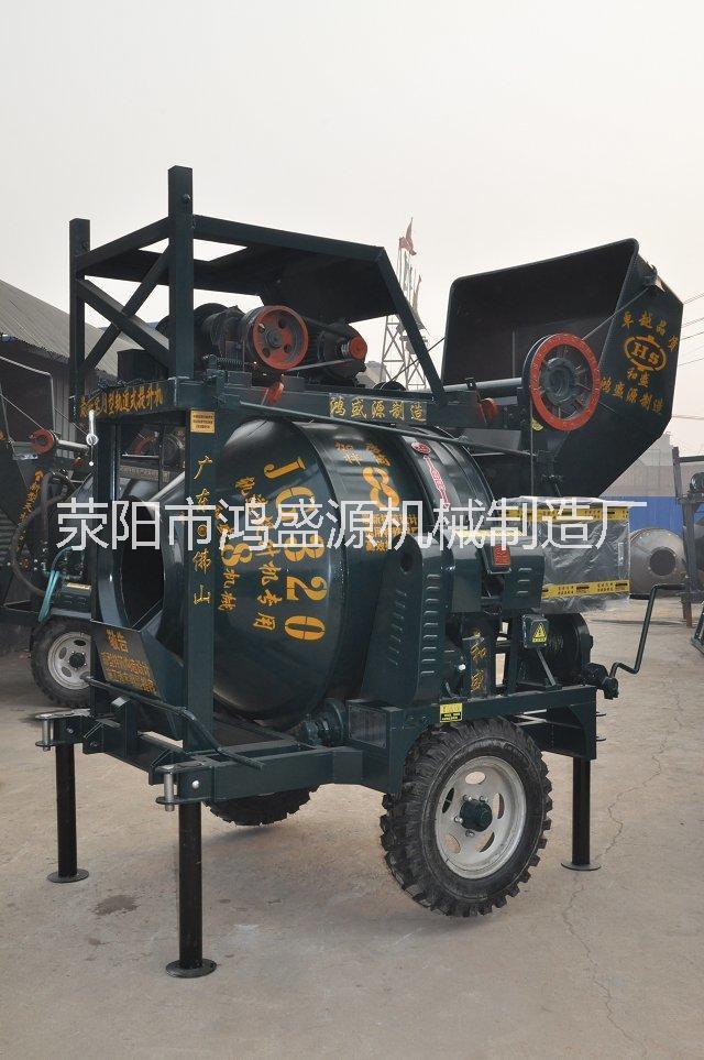 鸿盛源320型自动上料式爬梯搅拌机价格