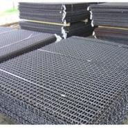 平顶山65高锰钢矿筛网、45碳钢筛网图片