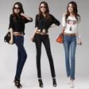 供应外贸女装牛仔裤低价便宜批发高质量