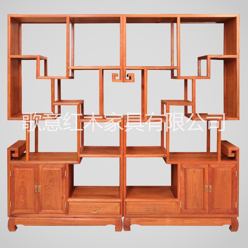 供应明式博古架-红木博古架-花梨木家具图片