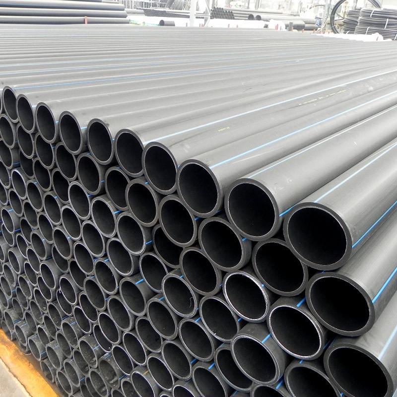 益华管道供应HDPE给水管 耐腐蚀、耐低温、断裂韧性、柔韧性强
