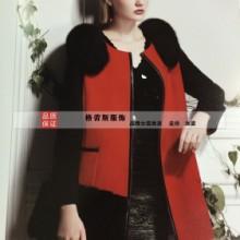 供应高档羊绒大衣到货了/品牌折扣女装/全国一线品牌图片