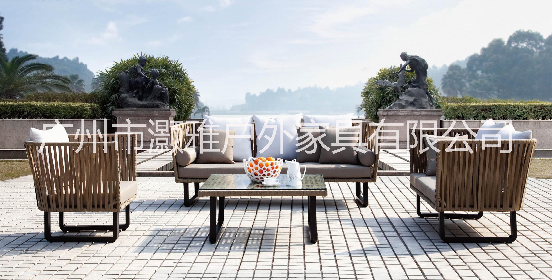 室外景观,室外藤椅沙发