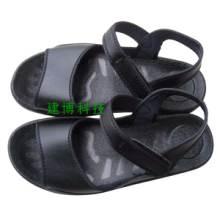 供應防靜電涼鞋防護PU潔凈鞋無塵鞋圖片