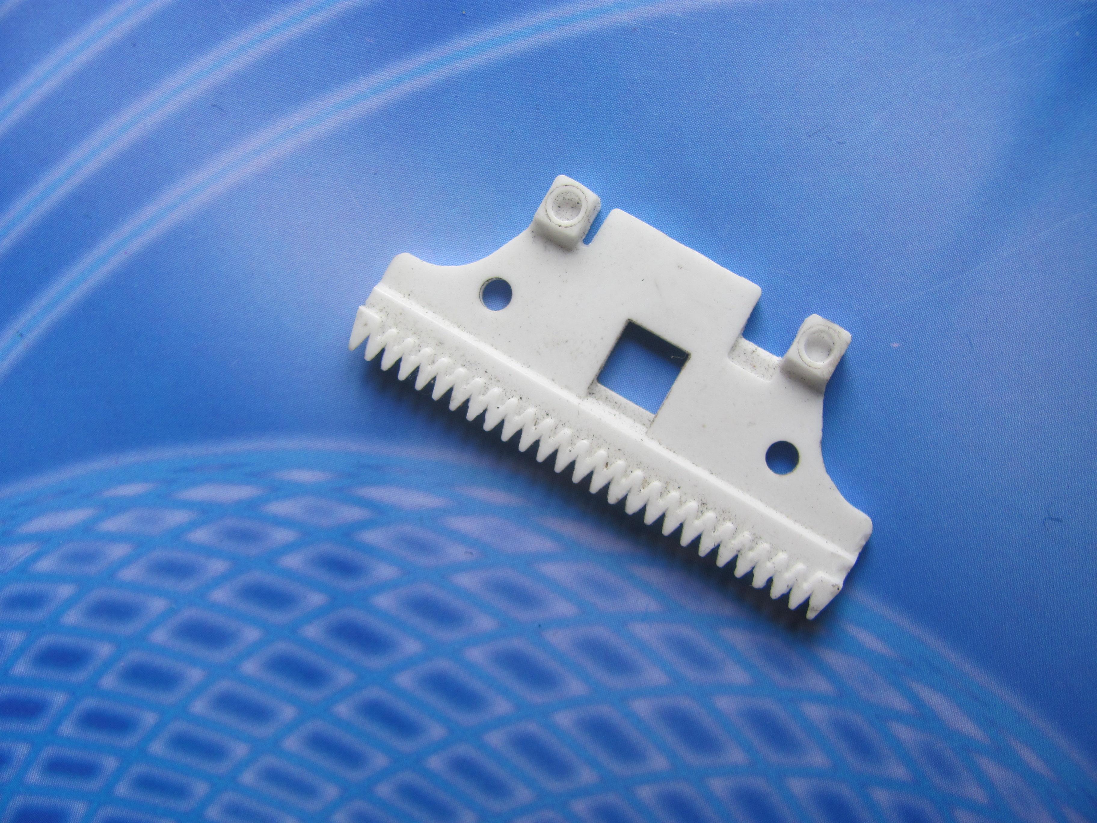 供应用于理发的供应陶瓷剪刀片,推剪片,理发剪刀