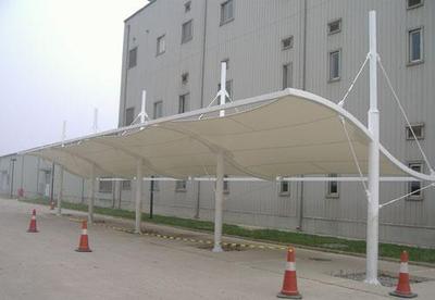 供应苏州膜结构汽车停车棚