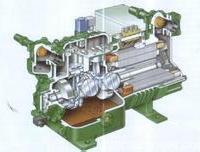 供应用于冷库设计按装的约克活塞1制冷压缩机