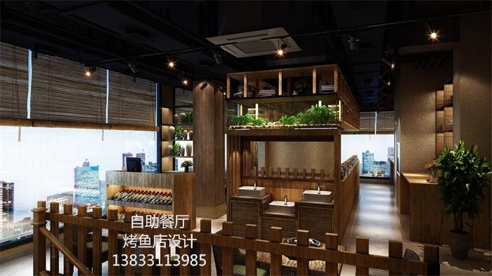 致力于石家庄餐饮饭店装饰设计十余年