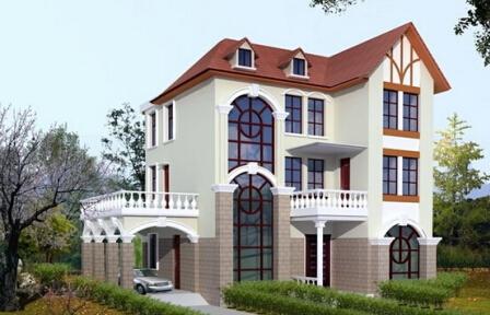 青岛金土地被动式轻钢结构别墅价格