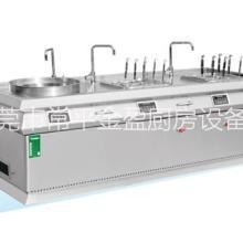 供应明档汤面组合炉/节能厨具/东莞厨具/不锈钢厨具