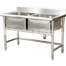 供应金盈不锈钢双眼水池/节能厨具/东莞厨具/不锈钢厨具