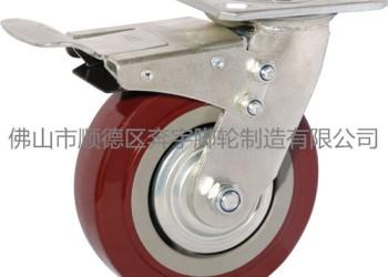重型超级聚氨酯轮 工业脚轮 定向图片