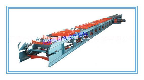 供应天津旭迪牌循环式双链穿管机Φ219-Φ1220,发泡机配套设备