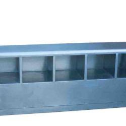 供应不鏽鋼双面鞋柜