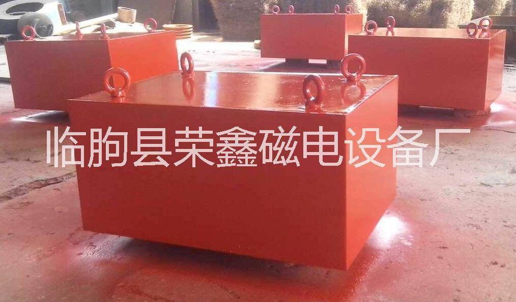 厂家设计生产用于排除铁杂质|保护生产设备|提高物料纯度的悬挂式永磁除铁器