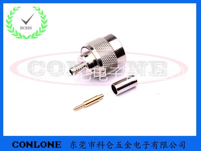 供应N-J3公头焊线式插座,N型射频同轴连接器,N-J3,N型公头焊线式插座