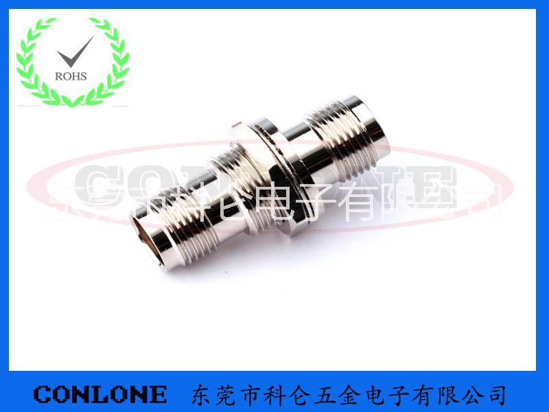 供应TNC母头转母头插座,TNC-KK射频插座,TNC射频转接头,TNC母头双通射频连接器
