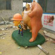 河北曲阳卡通石雕图片