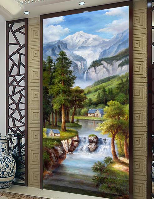 3d窗户手绘立体画