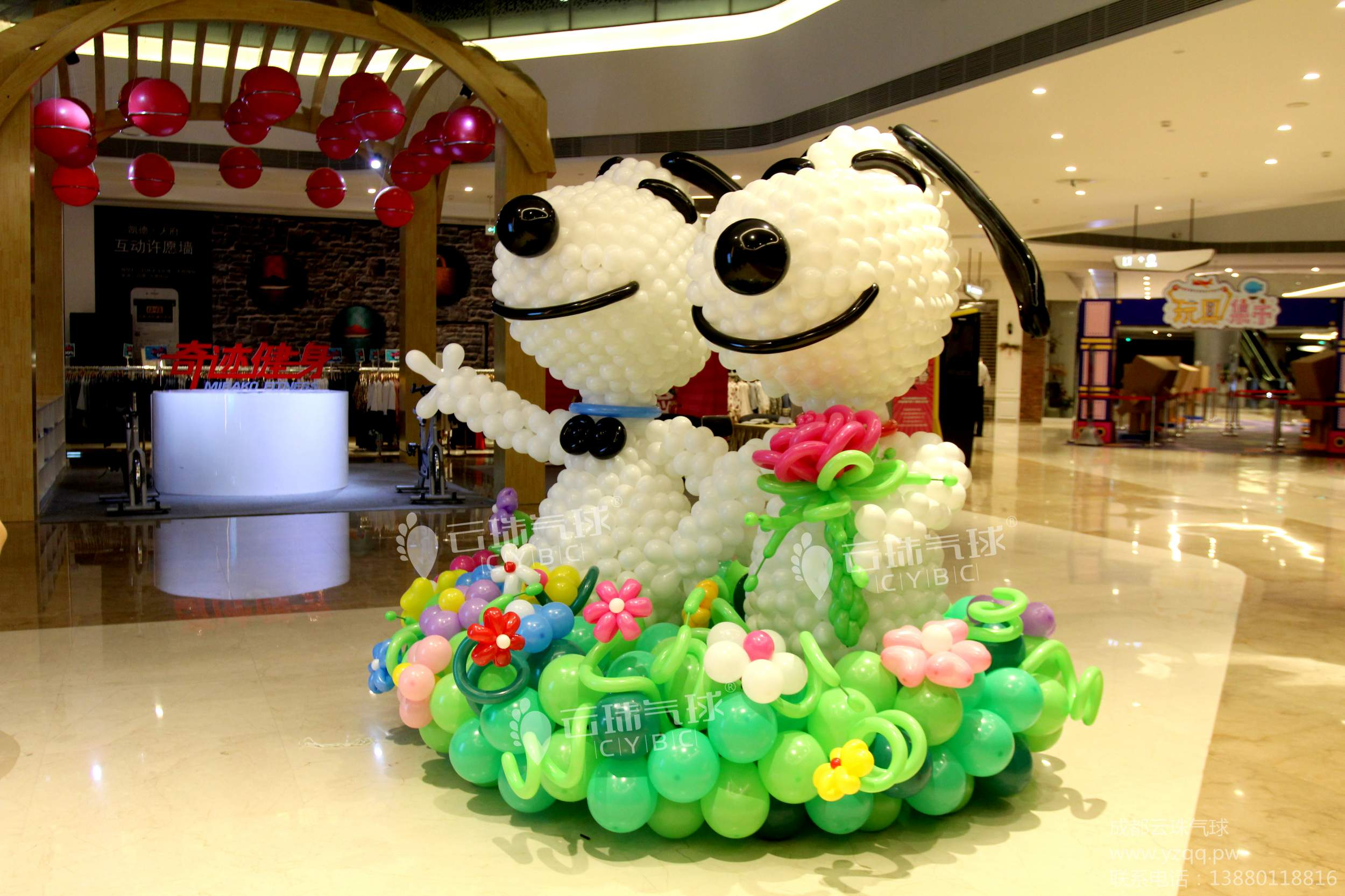 供应史努比/气球史努比/大型气球造型图片