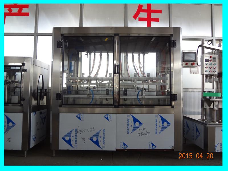 临沧防冻液灌装机|全自动防冻液灌装机|青州鲁泰机械