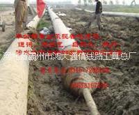 提供污水通讯电力燃气管道非开挖工
