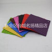 供应硅胶垫,马卡龙硅胶垫 食品级硅胶,竹子形隔热垫