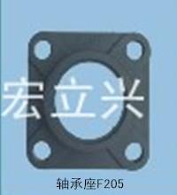 供应用于自动化的hs0768轴承座F205输送机机械配件HS0700流水线UC不锈钢轴承塑料带批发