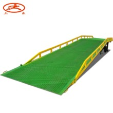 供应手动升降两轮可移动式登车桥