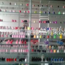 供应广州指甲油瓶喷涂厂,玻璃瓶喷油加工图片